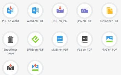 Gérer et transformer en PDF