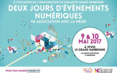 Aude, Narbonne en #CroissanceConnectée avec un FabLab